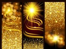 金色奢华闪耀背景矢量素材