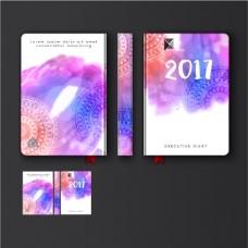 多彩装饰曼荼罗日记封面