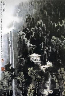 国画 中国画 李可染 国画大师