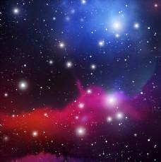 多彩闪耀粒子背景矢量素材