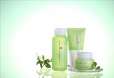 护肤品瓶子商业摄影