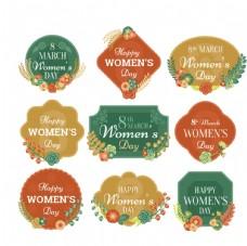 妇女节花卉饰品