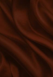 咖啡色绸布背景