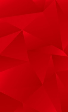 红色晶体背景