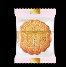 简洁西饼屋月饼包装袋