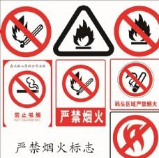 嚴禁煙火標識