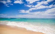 海滩摄影图