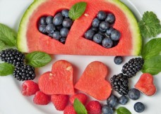 创意水果摆盘