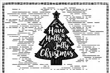 圣誕樹的元素