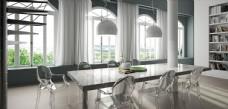餐厅效果图 现代风格