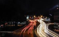 城市夜晚交通