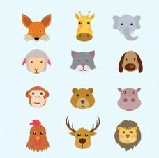 手绘动物插图