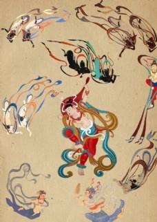 传统神仙图