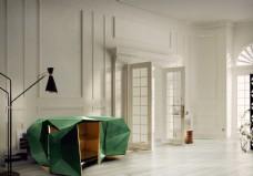 现代风格家具 储物柜 效果图