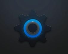 拟物化齿轮的绘制APP图标