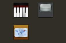 拟物化图标绘制icon图形