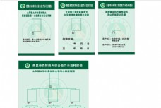 森林防火公示牌值班牌人员流程图
