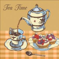 复古下午茶插图