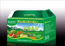 蔬菜包装箱展开图