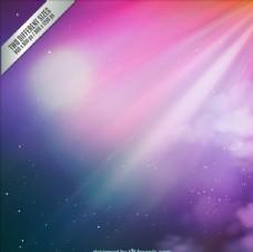 紫色背景矢量