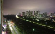 城市夜色一角