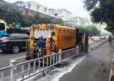 交通设施 护栏清洗车
