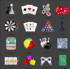 赌场元素图标