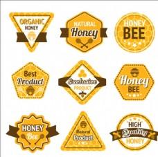 有机蜂蜜标签标识
