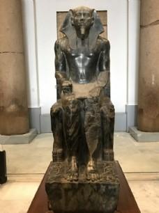 法老王雕塑