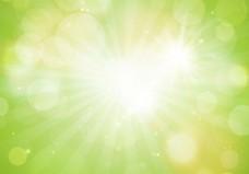绿色清新春季背景素材