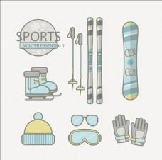 冬季滑雪運動必需品