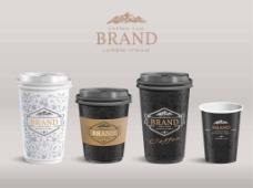 时尚咖啡杯包装