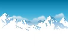雪山山峰EPS