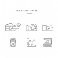 摄影图标集