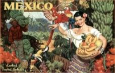 复古海报墨西哥
