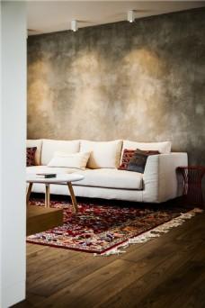 简约客厅沙发背景墙
