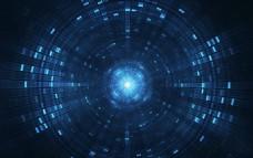 未来科技蓝色方块