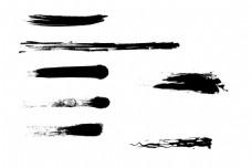 笔刷 墨迹