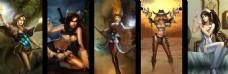 游戏主题背景墙