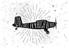 复古怀旧飞机旅行促销海报