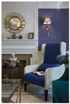 美式现代客厅装修装修效果图