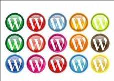 不同颜色的模板源文件宣传活动设