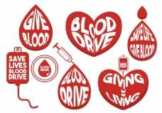 血液献血图标