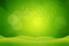 清新绿背景