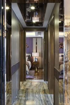 现代时尚室内走廊设计图