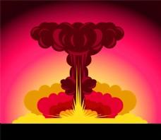 爆炸图片矢量素材