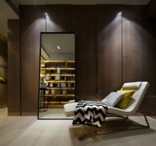 现代简约室内沙发背景墙设计图