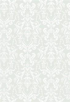 浅色花纹无缝壁纸图片