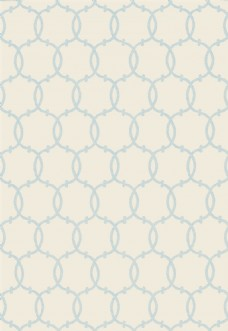 米黄色圆形花纹布艺壁纸