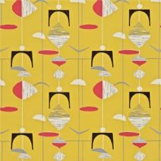 黄色背景精美风铃壁纸素材